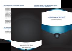personnaliser modele de depliant 2 volets  4 pages  gris gris fonce mat MLGI63904
