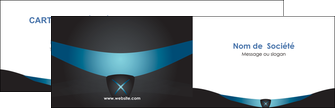 creer modele en ligne carte de visite gris gris fonce mat MLIG63906