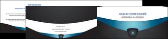 personnaliser modele de depliant 2 volets  4 pages  gris gris fonce mat MLGI63934