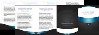 personnaliser modele de depliant 4 volets  8 pages  gris gris fonce mat MLGI63946