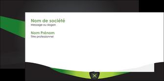creer modele en ligne enveloppe gris vert fond MLIG64040