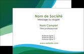 realiser carte de visite vert bleu couleurs froides MLGI64163