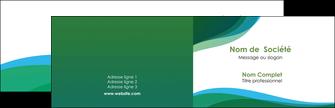 faire modele a imprimer carte de visite vert bleu couleurs froides MLGI64172