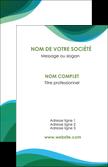 personnaliser maquette carte de visite vert bleu couleurs froides MLGI64174