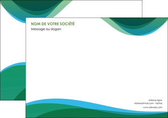faire modele a imprimer affiche vert bleu couleurs froides MLIP64184