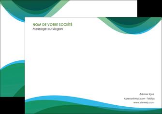 impression affiche vert bleu couleurs froides MLIP64188
