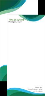 maquette en ligne a personnaliser flyers vert bleu couleurs froides MLIP64214