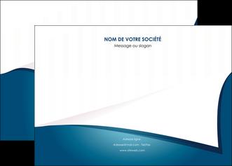 creer modele en ligne affiche bleu fond  bleu couleurs froides MIF64256