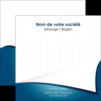 imprimerie flyers bleu fond  bleu couleurs froides MIF64268