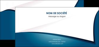 maquette en ligne a personnaliser flyers bleu fond  bleu couleurs froides MIF64272