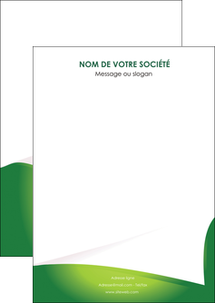 faire flyers vert fond vert abstrait MIF64344