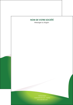 modele en ligne affiche vert fond vert abstrait MIF64346