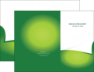 cree pochette a rabat vert fond vert abstrait MIF64352