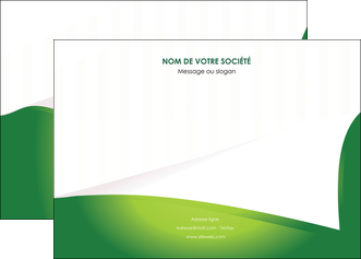 impression affiche vert fond vert abstrait MIF64360