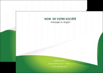 modele en ligne flyers vert fond vert abstrait MIF64368