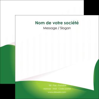 impression flyers vert fond vert abstrait MIF64372