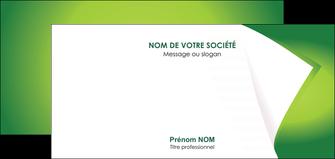 cree carte de correspondance vert fond vert abstrait MIF64378