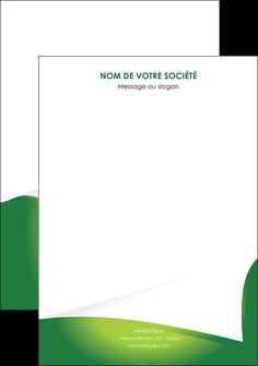maquette en ligne a personnaliser affiche vert fond vert abstrait MIF64382