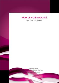 imprimerie flyers violet violet fonce couleur MIF64518
