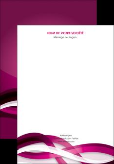 personnaliser maquette affiche violet violet fonce couleur MIF64520