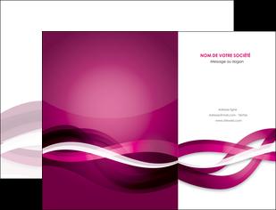 cree pochette a rabat violet violet fonce couleur MIF64526
