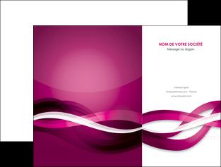 maquette en ligne a personnaliser pochette a rabat violet violet fonce couleur MIF64528