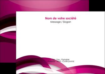 faire modele a imprimer flyers violet violet fonce couleur MIF64538