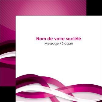modele en ligne flyers violet violet fonce couleur MIF64546