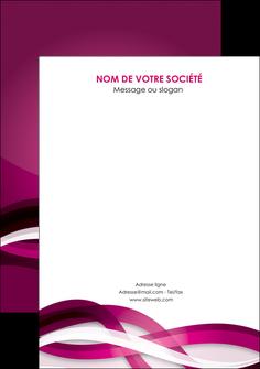 exemple flyers violet violet fonce couleur MIF64560