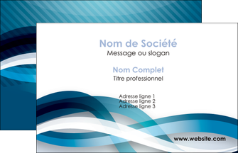 creation graphique en ligne carte de visite web design bleu fond bleu couleurs froides MLGI64680