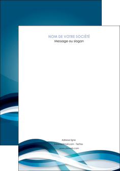 exemple flyers web design bleu fond bleu couleurs froides MLGI64682