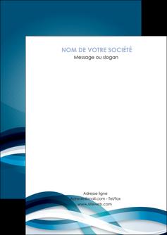 impression flyers web design bleu fond bleu couleurs froides MLGI64684