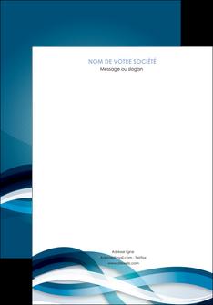 creer modele en ligne affiche web design bleu fond bleu couleurs froides MLGI64686