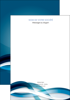 imprimer affiche web design bleu fond bleu couleurs froides MLGI64688