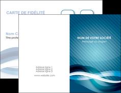Commander Carte 10x15 Pelliculage Web Design Commerciale De Fidelite Modele Graphique Pour Devis D