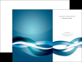 creation graphique en ligne pochette a rabat web design bleu fond bleu couleurs froides MIS64694