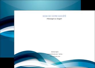 personnaliser maquette affiche web design bleu fond bleu couleurs froides MIS64700