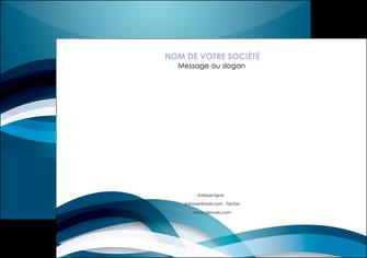 creer modele en ligne affiche web design bleu fond bleu couleurs froides MIS64702