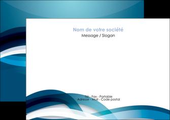 maquette en ligne a personnaliser flyers web design bleu fond bleu couleurs froides MLGI64704