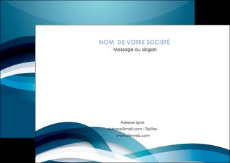 imprimerie flyers web design bleu fond bleu couleurs froides MIS64708
