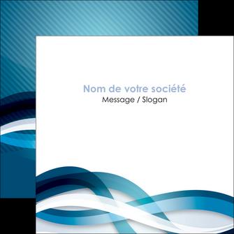 realiser flyers web design bleu fond bleu couleurs froides MLGI64712