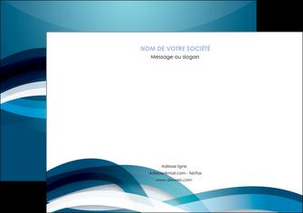 impression flyers web design bleu fond bleu couleurs froides MIS64714