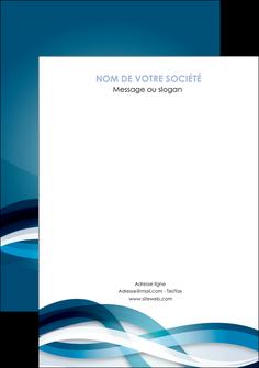 creer modele en ligne flyers web design bleu fond bleu couleurs froides MIS64726