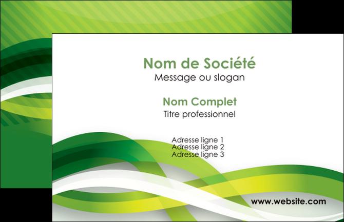 Modele En Ligne Carte De Visite Vert Verte Fond MLGI64732