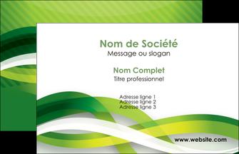 modele en ligne carte de visite vert verte fond vert MLGI64732
