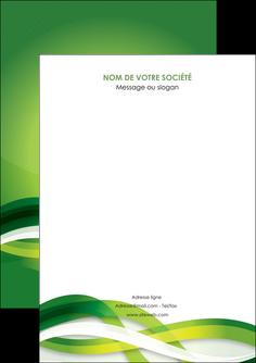 imprimerie flyers vert verte fond vert MLGI64734