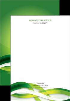 exemple affiche vert verte fond vert MLGI64738