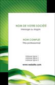impression carte de visite vert verte fond vert MLGI64743