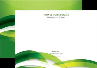 modele affiche vert verte fond vert MLGI64754