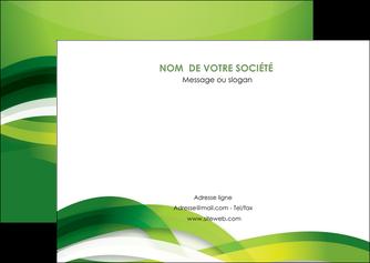 creation graphique en ligne flyers vert verte fond vert MLGI64760